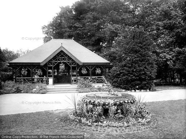 Photo of Darlington, Sun Dial and Tea House 1923, ref. 74334