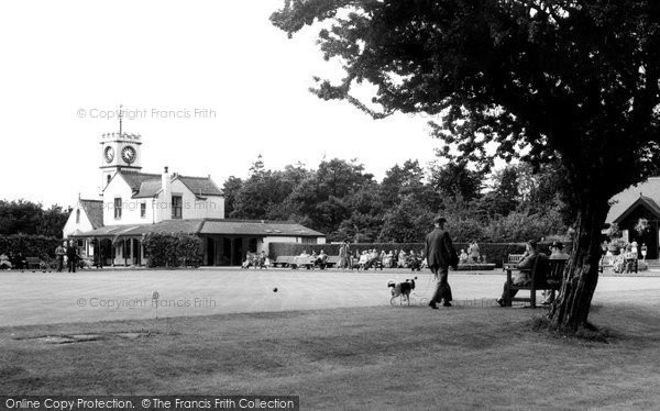 Photo of Darlington, the Bowling Green, South Park c1960, ref. d2019