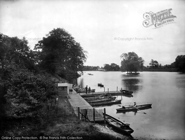 Photo of Darlington, the Lake 1925, ref. 77753