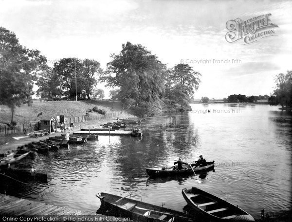Photo of Darlington, the Lake, South Park 1929, ref. 82529