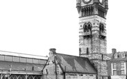 Darlington, The Town Clock c.1965