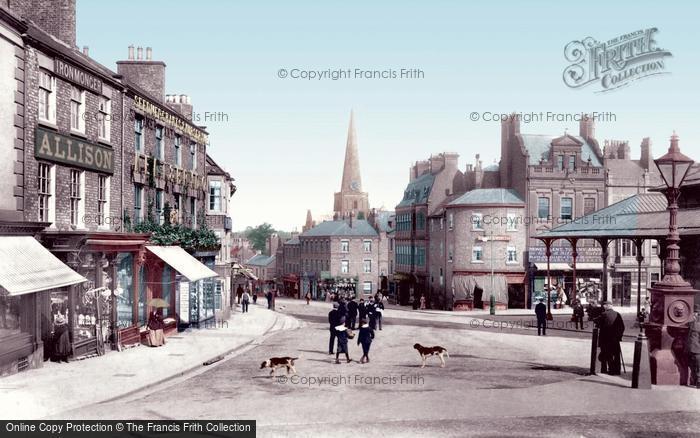Photo of Darlington, Tubwell Row 1903, ref. 50008t