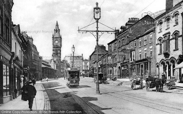 Photo of Darlington, Tubwell Row 1901, ref. 48005