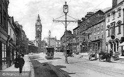 Darlington, Tubwell Row c.1905