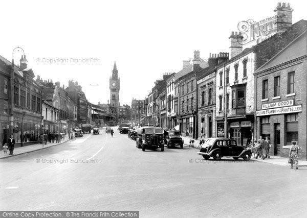 Photo of Darlington, Tubwell Row c1955, ref. d2003