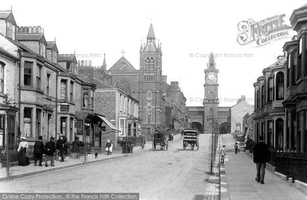 Photo of Darlington, Victoria Road 1903