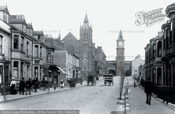 Photo of Darlington, Victoria Road 1903, ref. 50007p