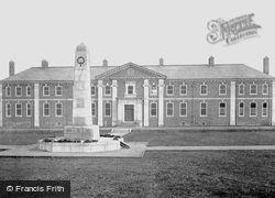 Darlington, War Memorial And New Hospital c.1935