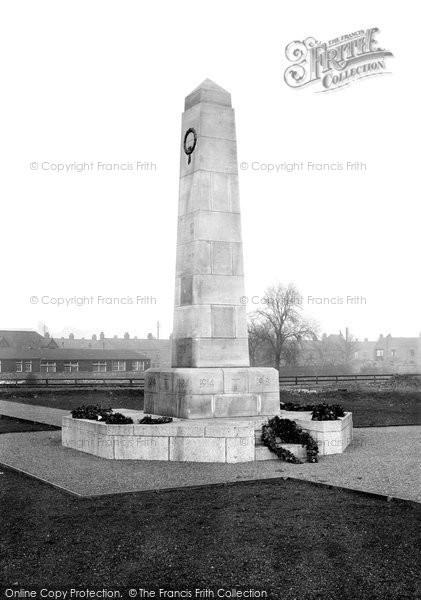 Photo of Darlington, War Memorial 1926, ref. 79031e