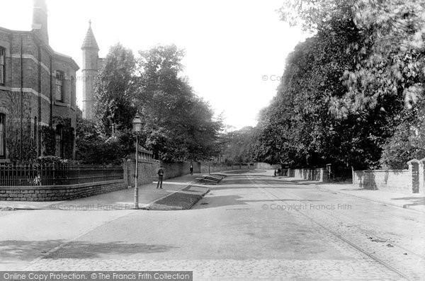 Photo of Darlington, Woodland Road 1892