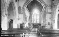 Dartford, Church Interior 1902