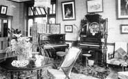 Dartford, City London Asylum, Drawing Room 1903