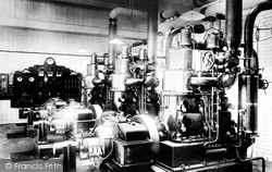 City Of London Asylum Engine Room 1903, Dartford
