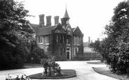 Dartford, City of London Asylum Entrance 1903