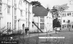 College, Oakfield And Art Room c.1965, Dartford