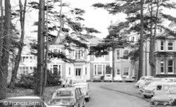 College, The Front Drive c.1965, Dartford