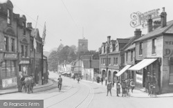 Dartford, East Hill 1917