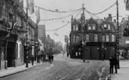 Dartford, High Street, Coronation Decorations 1911