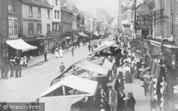 Dartford, High Street, Market Day c.1900
