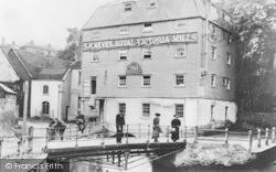 Dartford, Royal Victoria Mills c.1900