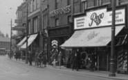 Dartford, Shops In Hythe Street c.1925