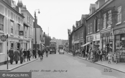 Dartford, Spital Street c.1955