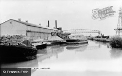 Dartford, The Canal c.1955