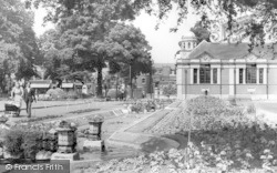 Dartford, The Central Park c.1955
