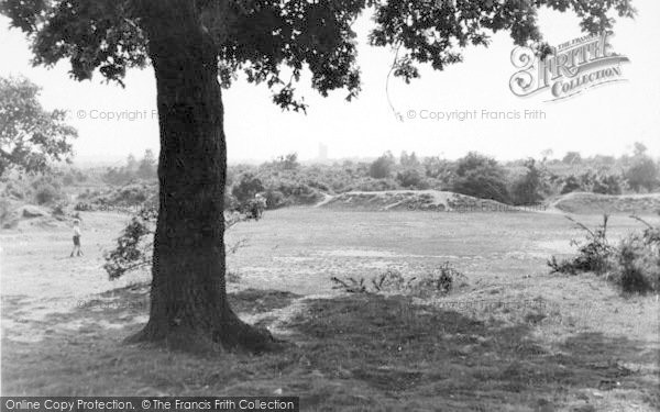 Photo of Dartford, The Common c.1955 - Francis Frith