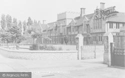 Dartford, The Girls' Grammar School c.1955