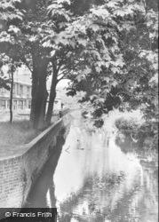The Old Mill Stream c.1955, Dartford