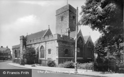 The Parish Church c.1955, Dartford