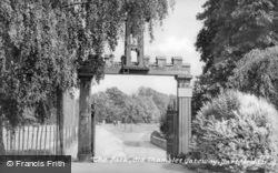 The Park, Old Shambles Gateway c.1955, Dartford