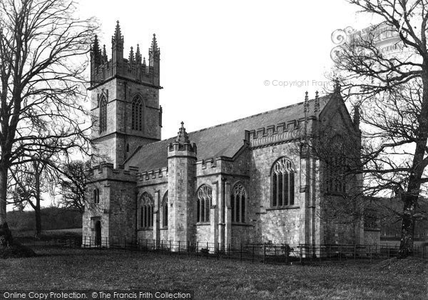 Dartington, Church 1889