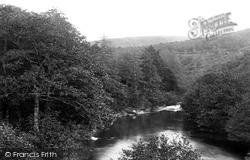 Dartmeet, Confluence Of The Dart And The Webburn Rivers c.1871