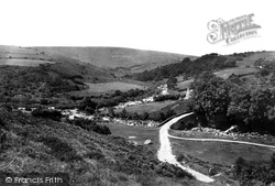 Dartmeet, Meeting Of The East And West Dart 1890