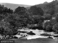 Dartmeet, Meeting Of The East And West Dart 1925