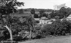 Meeting Of The Rivers Dart c.1955, Dartmeet