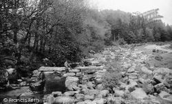 Dartmeet, Old Clapper Bridge 1910