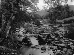Dartmeet, River From Bridge c.1939