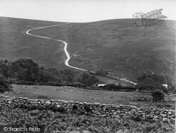 Road Over Moor 1925, Dartmeet