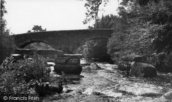 Dartmeet, The Bridge c.1955
