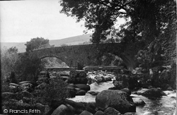 Dartmeet, The Bridges c.1939
