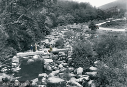 Dartmeet, The Clapper Bridge 1925