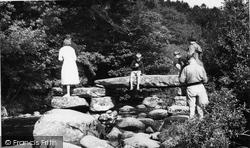 Dartmeet, The Clapper Bridge c.1960