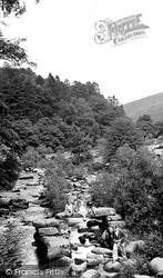 Dartmeet, The River From The Bridge c.1960