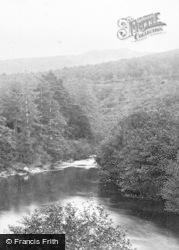Dartmeet, The River Weburn And The River Dart c.1871