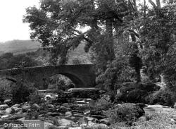 The Two Bridges 1925, Dartmeet