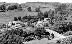 Dartmeet, The Village c.1955
