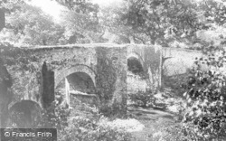 Dartmoor, An Old Bridge, Dartmeet Road c.1930